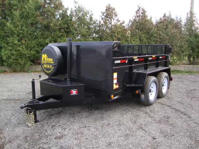 Front Mount Dump Trailers - 5 ton Dump Trailer