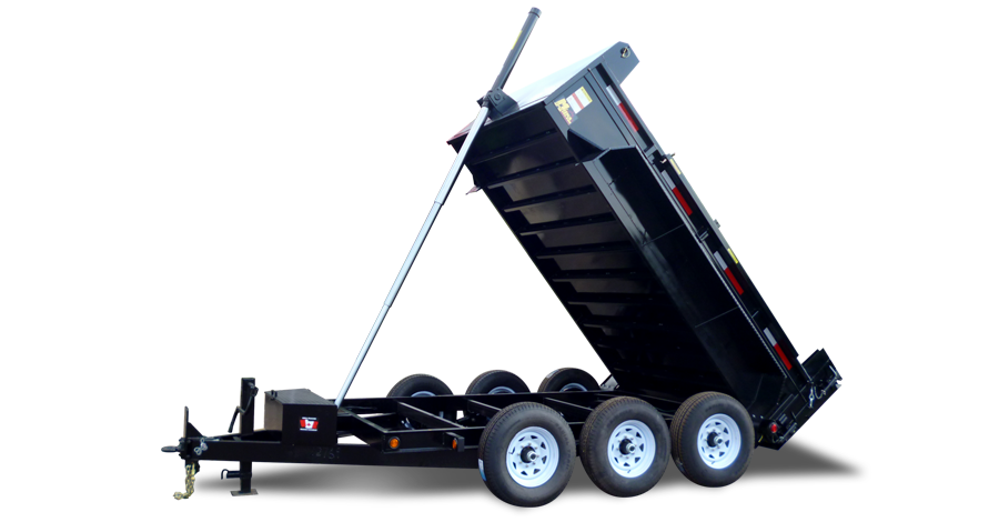 "Front Mount Dump Trailers - 10 ton ""Titan""™ Dump Trailer"