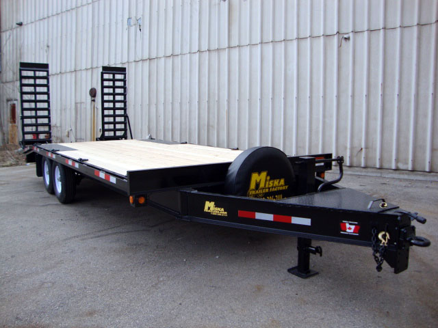 Single Wheel Deckover Floats - 7 ton Deckover Float