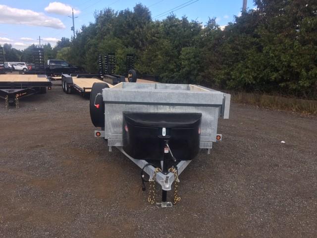 Galvanized Scissor Lift Dumps - Galvanized 2-1/2 ton SA GD Scissor Lift