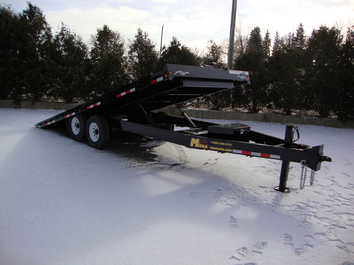 Hydraulic Tilt Trailers - 7 Ton Deck Over Hyd Tilt