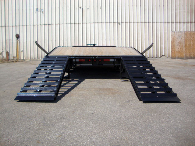 Single Wheel Deckover Floats - 10 Ton Deckover Float