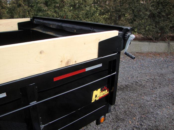 Scissor Lift Dump Trailers - 5 ton MD Scissor Lift