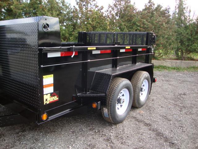 Front Mount Dump Trailers - 3 1/2 ton Dump Trailer