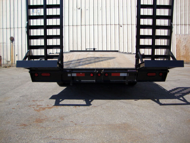 Single Wheel Deckover Floats - 10 Ton Deckover Float
