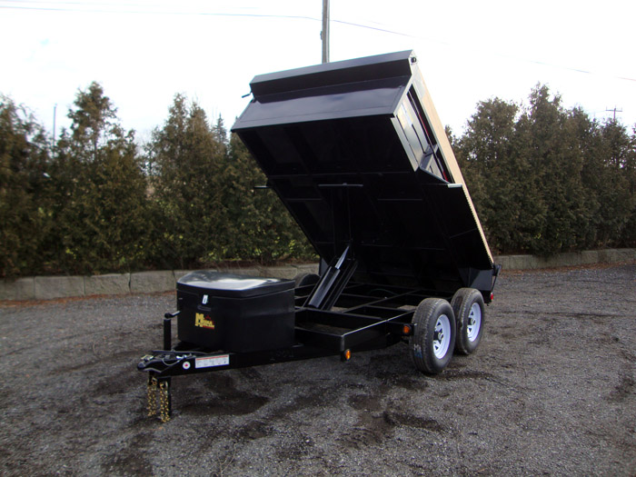 Scissor Lift Dump Trailers - 3-1/2 ton GD Scissor Lift