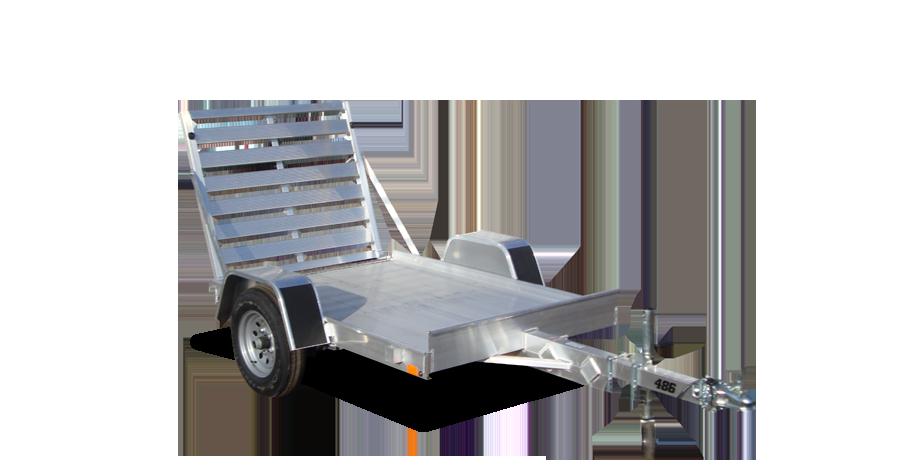 "Single Axle Utility - 486 (48"" x 6') Utility Trailer"