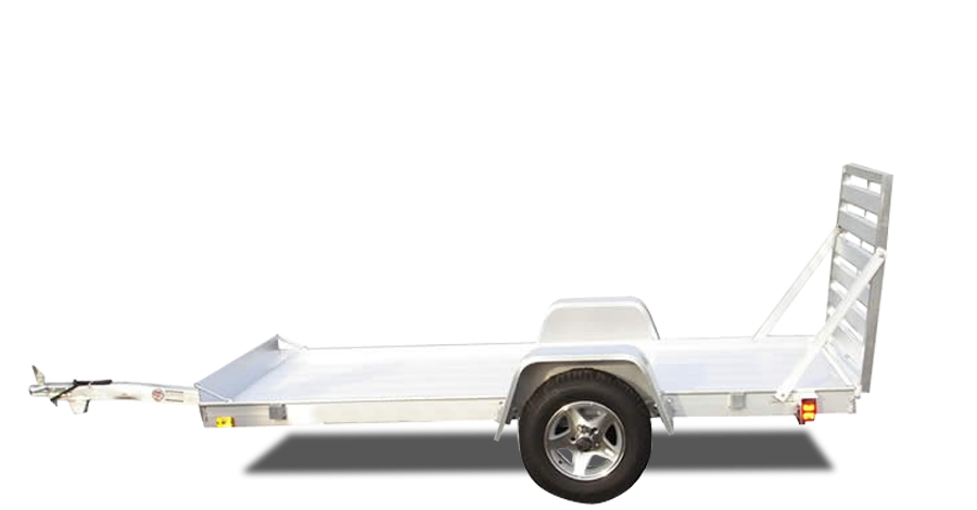 "Single Axle Utility - 5410 (54"" x 10') Utility Trailer"