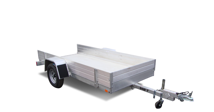 "Single Axle Utility - 5410T (54"" x 10') Tilt Utility Trailer"