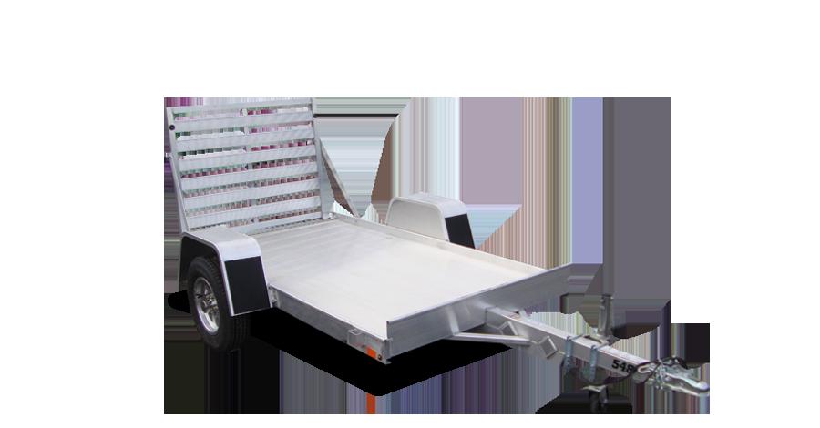 "Single Axle Utility - 548 (54"" x 8') Utility Trailer"