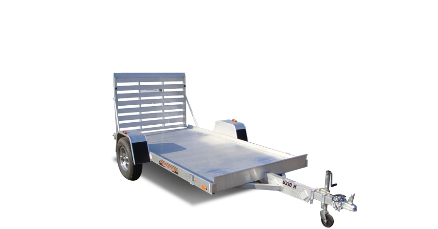 "Single Heavy Axle Utility - 6310H (63.5"" x 10') Utility Trailer"