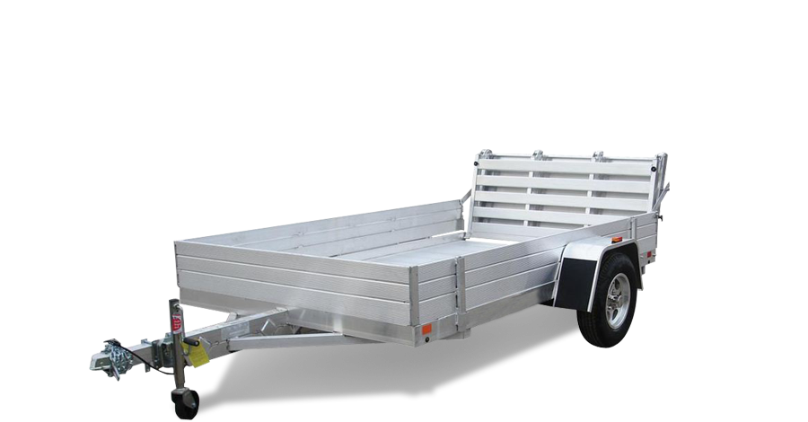 "Single Heavy Axle Utility - 6810H (68.5"" x 10'2"") Utility Trailer"