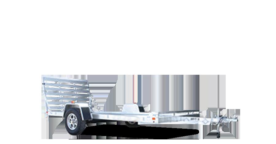 "Single Heavy Axle Utility - 6812H (68.5"" x 12') Utility Trailer"