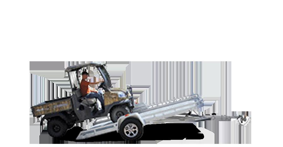"Single Heavy Axle Utility - 7712H (77.5"" x 12'1/2"") Tilt Utility Trailer"
