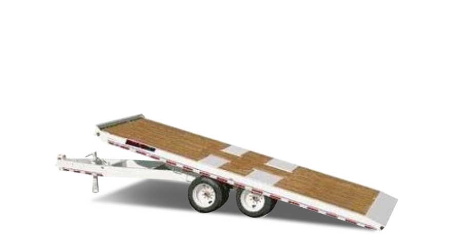 Hydraulic Tilt Trailers - 10 Ton Tandem Dually Deck Over Hyd Tilt