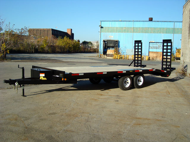 Single Wheel Deckover Floats - 5 ton Deckover Float