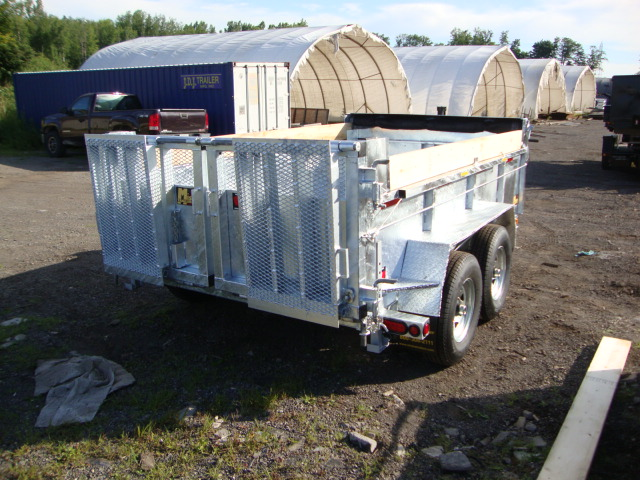 "Galvanized Front Mount Dumps - Galvanized 6 ton ""Industrial""™ Dump"