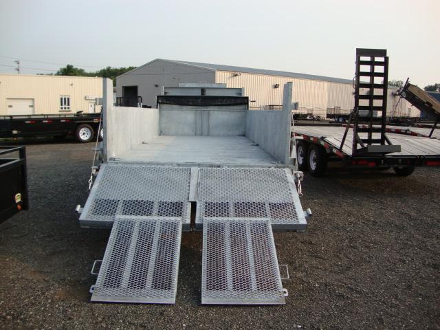 "Galvanized Front Mount Dumps - Galvanized 10 ton ""Titan""™ Dump"