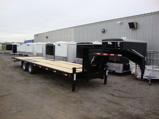 Hydraulic Tilt Trailers - Hydraulic Dove Tail Tandem Dually