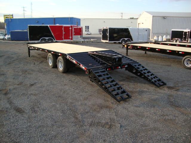 Tandem Dually Deckover Floats - 15 Ton Tandem Dually