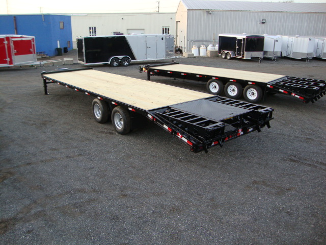 Tandem Dually Deckover Floats - 12 Ton Tandem Dually