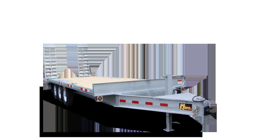 Galvanized Single Wheel Deckovers - Galvanized 10 Ton Deckover Float