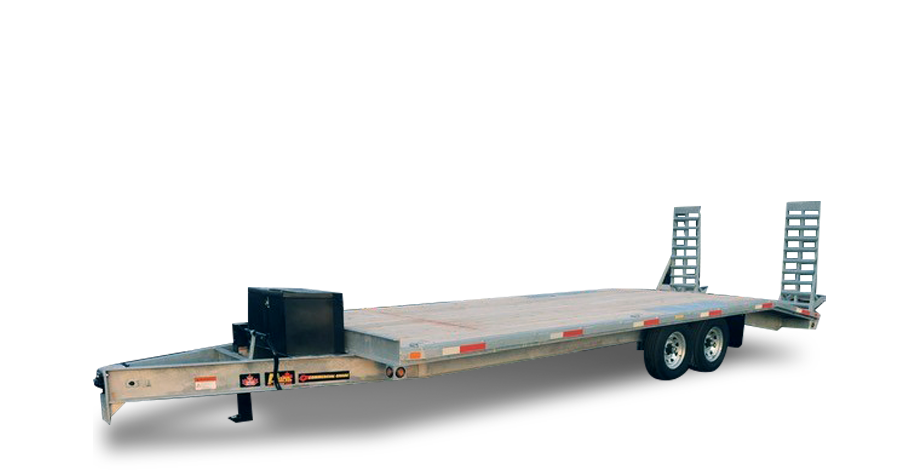 Galvanized Single Wheel Deckovers - Galvanized 7 ton Deckover Float