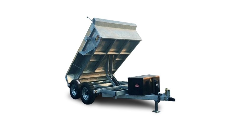 Galvanized Scissor Lift Dumps - Galvanized 7 ton HD Scissor Lift