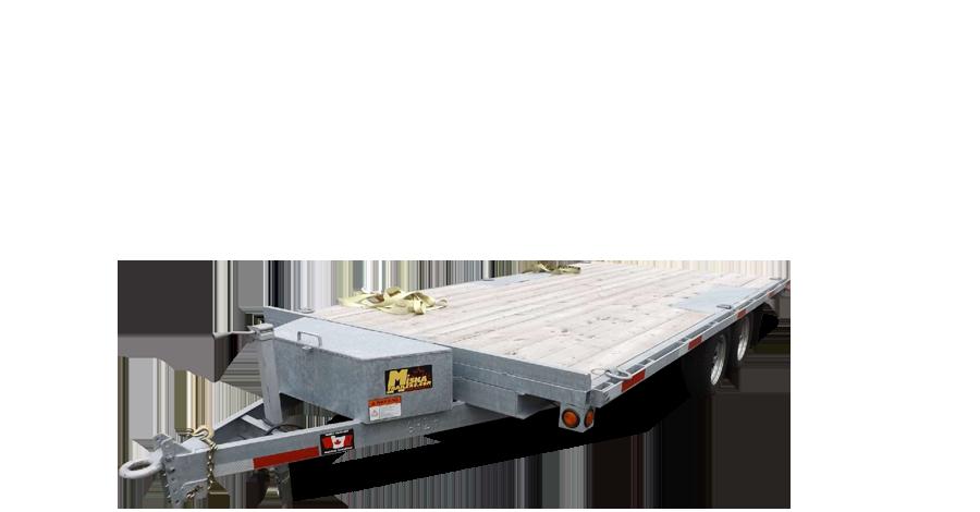 Galvanized Single Wheel Deckovers - Galvanized Sportsman™ Widebody-3 1/2 ton
