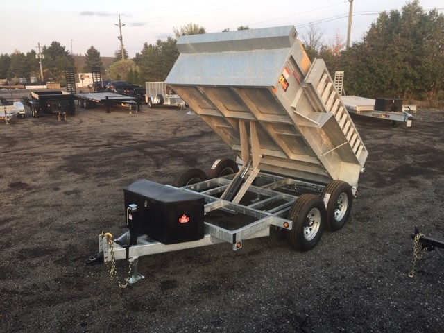 Galvanized Scissor Lift Dumps - Galvanized 6 ton HD Scissor Lift
