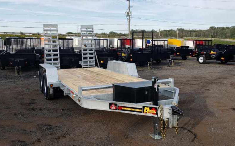 "Galvanized Low Beds - Galvanized 7 ton ""Bobcat""™ Low Bed Float"