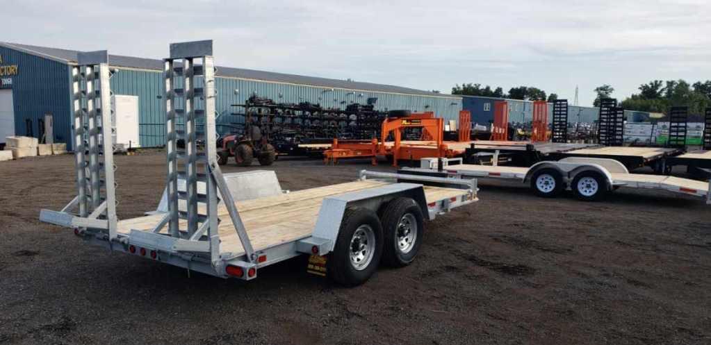 "Galvanized Low Beds - Galvanized 7 ton ""Bobcat""™ Low Bed Float"