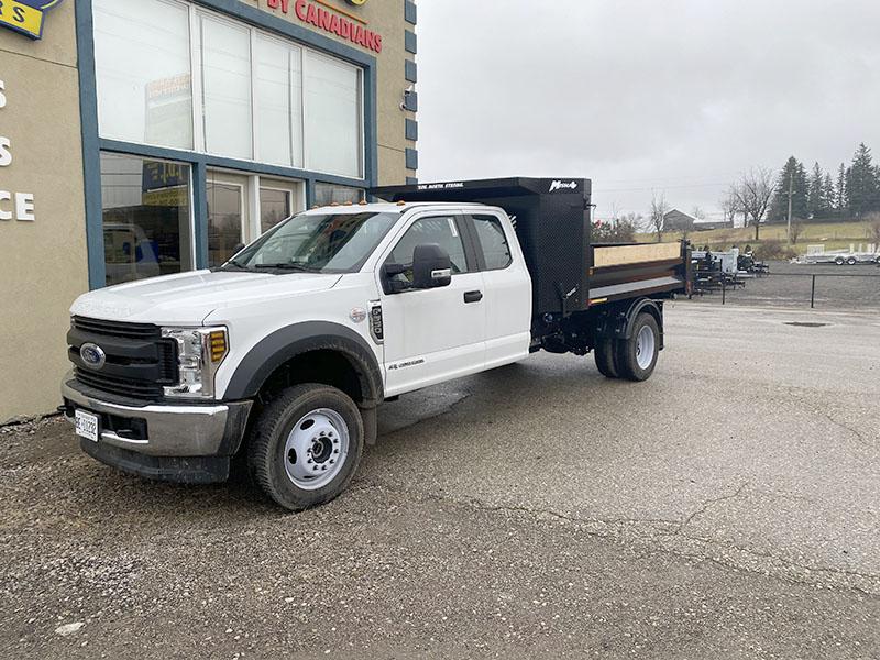 """Landscape Dump Bodies - 9'6"""" Dump Truck Body"""
