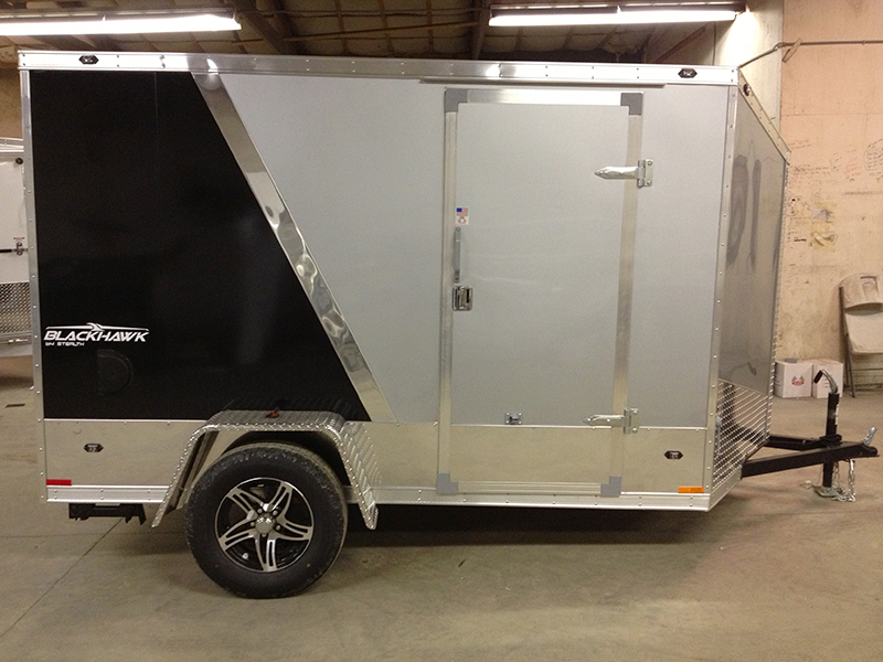 Miska Blackhawk Motorcyle Hauler SBHT - 7' Wide Single Axle