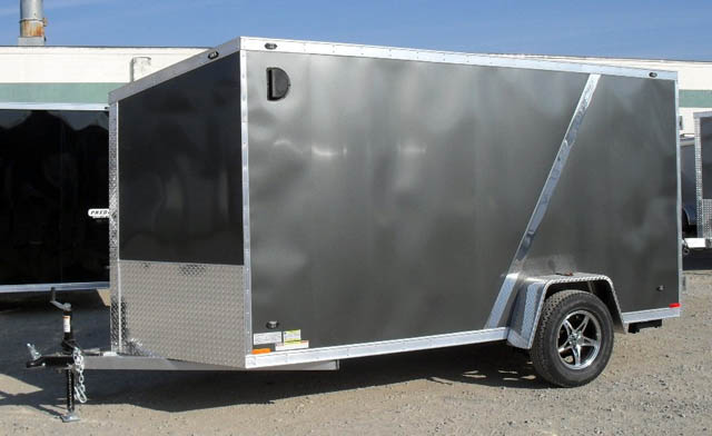 Miska Blackhawk Motorcyle Hauler-Aluminum SABH - 7' Wide Single Axle