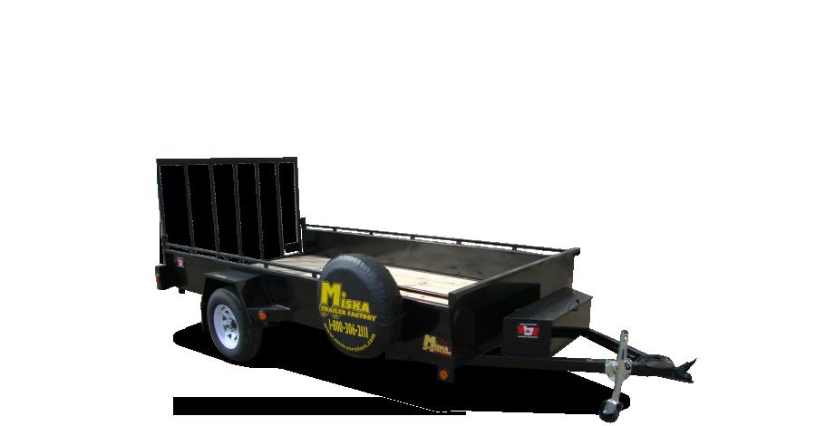 very attractive trailer build kits. Miska Trailers are Built Canadian tough in Hamilton  Ontario Premium 6 x 12 Single Axle Trailer Factory