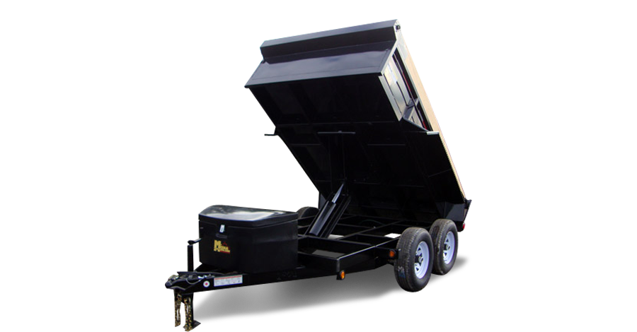 Scissor Lift Dump Trailers - 3-1/2 ton GD Scissor Lift