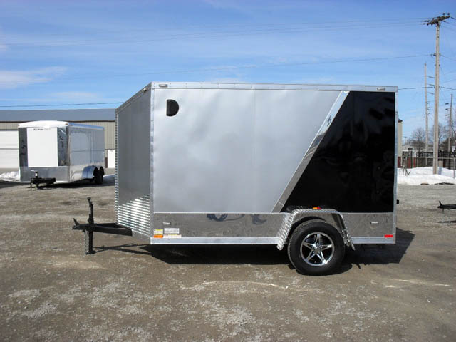 Miska Blackhawk Motorcyle Hauler SBHT - 5' Wide Single Axle