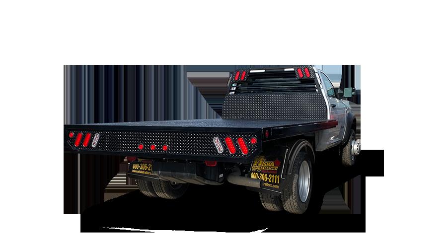 Flatdeck Truck Bodies - 12' Flatdeck Truck Body