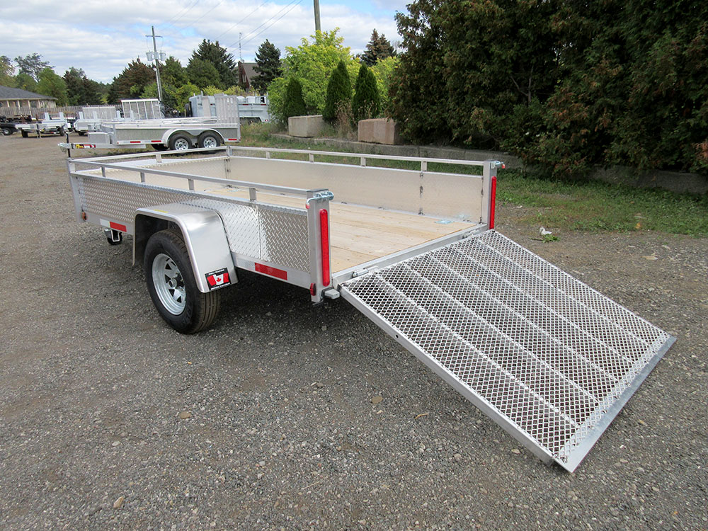 Single Axle - 5x10 SA Aluminum