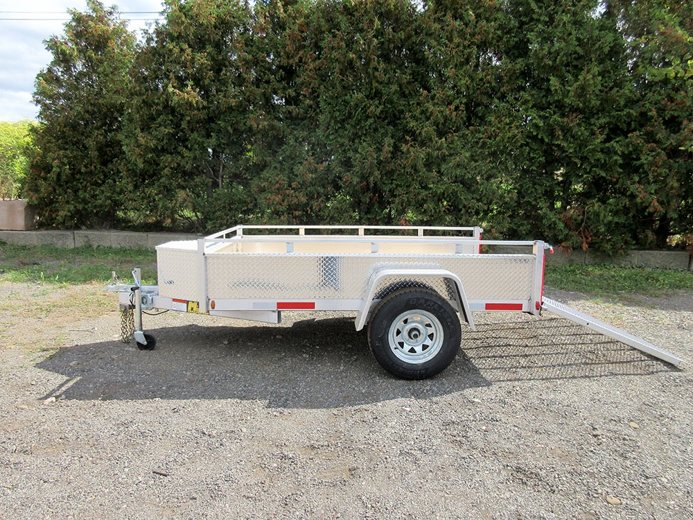 Single Axle - 5x8 SA Aluminum