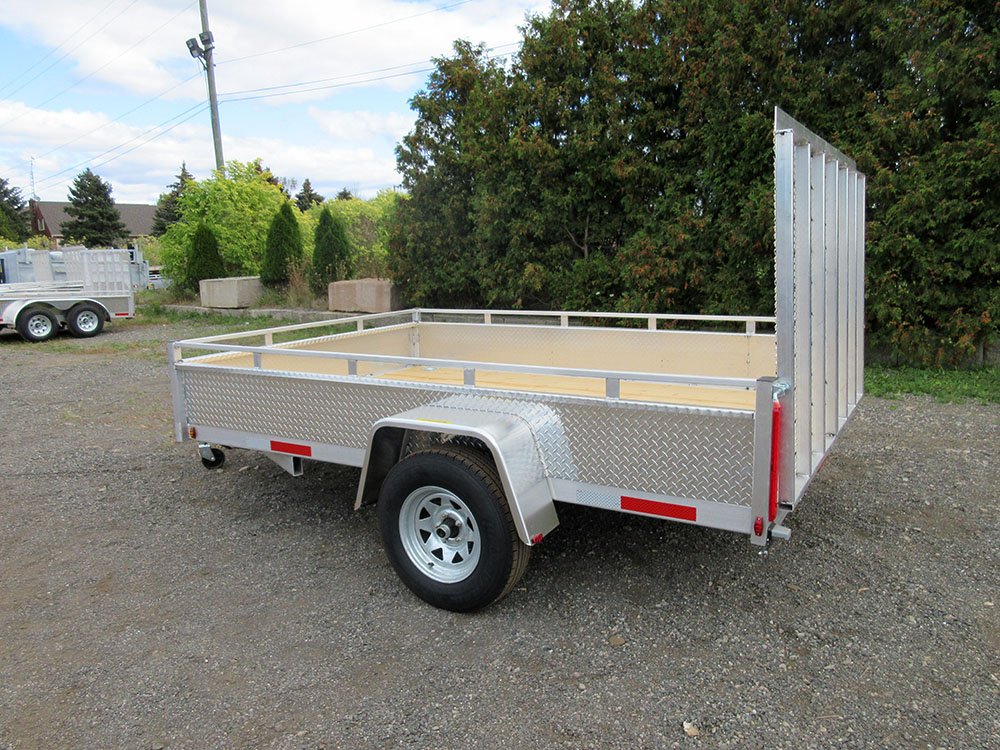 Single Axle - 80x10 SA Aluminum