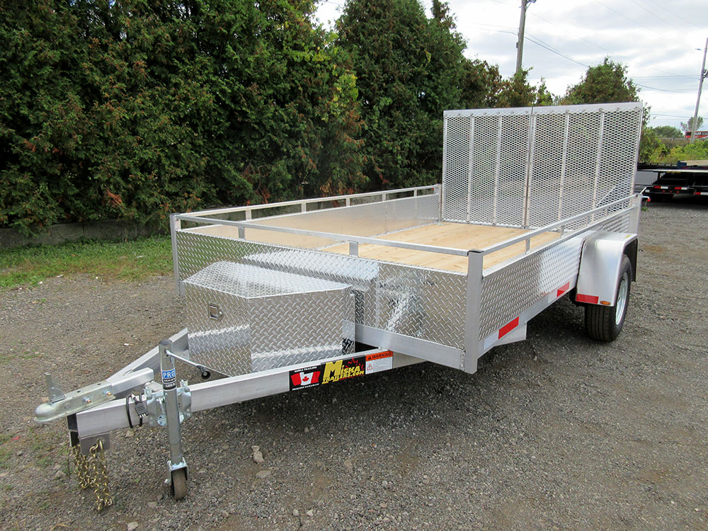 Single Axle - 80x12 SA Aluminum