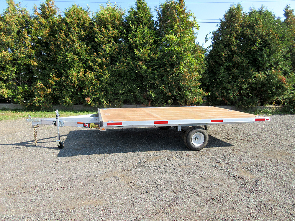 Snowmobile - 102 x 12' SA Aluminum - Two Place