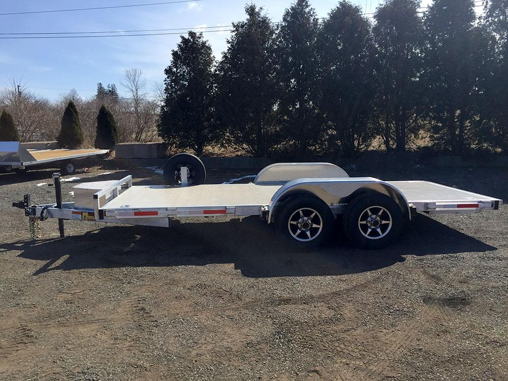 Car Haulers - 18' Deluxe Aluminum Car Hauler