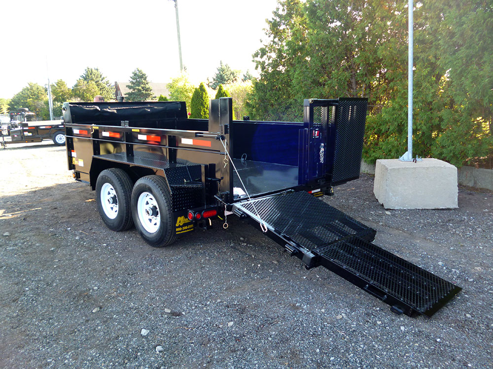 "Front Mount Dump Trailers - 6 ton ""Industrial""™ Dump Trailer"