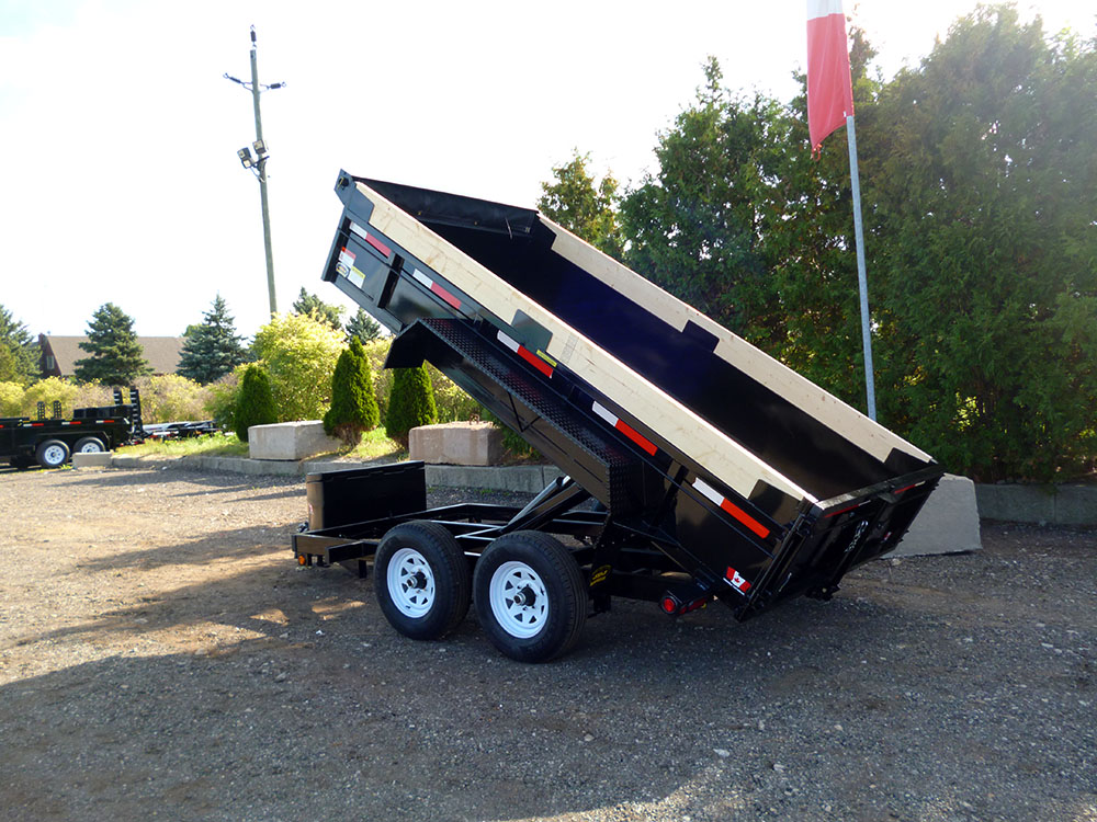 Scissor Lift Dump Trailers - 6 ton HD Scissor Lift