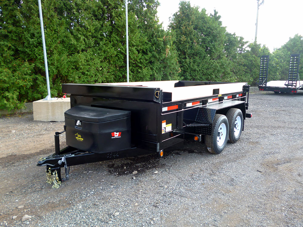 Scissor Lift Dump Trailers - 7 ton HD Scissor Lift