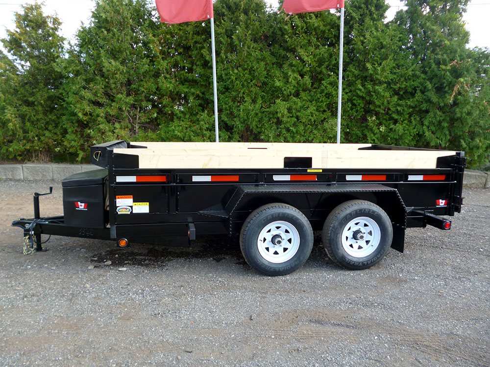 Scissor Lift Dump Trailers - 6 ton HD Scissor Lift