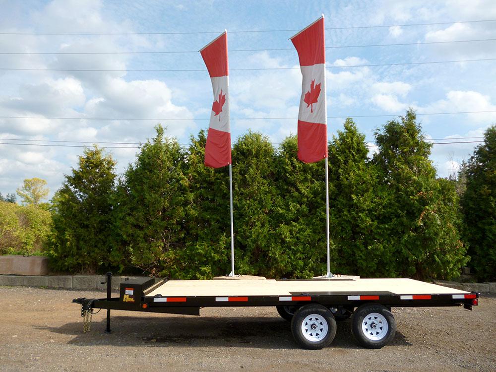 Single Wheel Deckover Floats - Sportsman™ Widebody-3 ½ ton